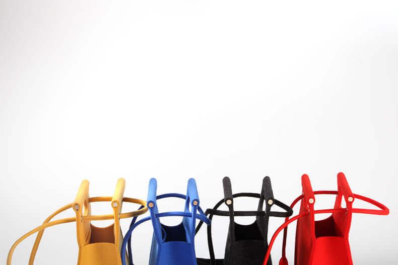 Lamp vilt tassen fotograferen met de kleurrijke tassen in juiste composite.