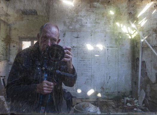 Zelfportret Paul van Goor