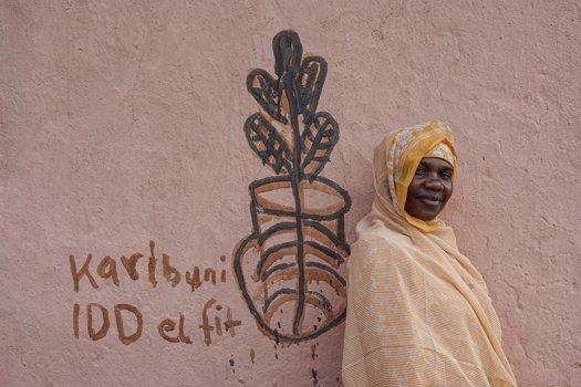 boerin uit Tanzania